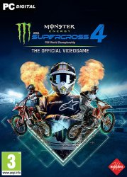Monster Energy Supercross - The Official Videogame 4 (2021) PC | Лицензия
